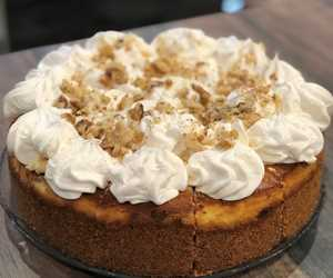 Banana Nut Cheesecake